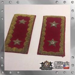 Presillas Grados Antiguos de General de Brigada Chilean Army Grades General