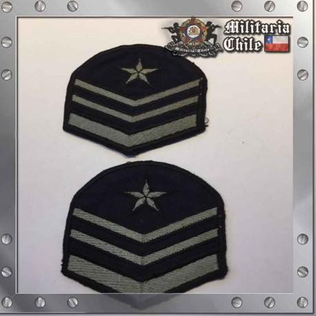 Parches Grado Sargento Primero FACH Air Force Sargent Grades