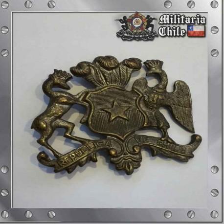 Piocha Escudo de Chile Antiguo Adecan Pin Chilean Army