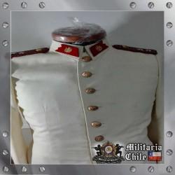 Uniforme de Gala Color Crema Blanco Marfil Grado Teniente Perfecto Estado