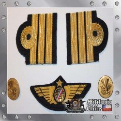 Insignias Copiloto Air France Lote Completo Badge Lot