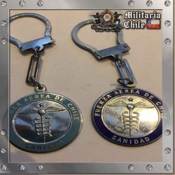 Llaveros Par Fuerza Aerea Antiguos FACH Pair of Old Air Force Keychain