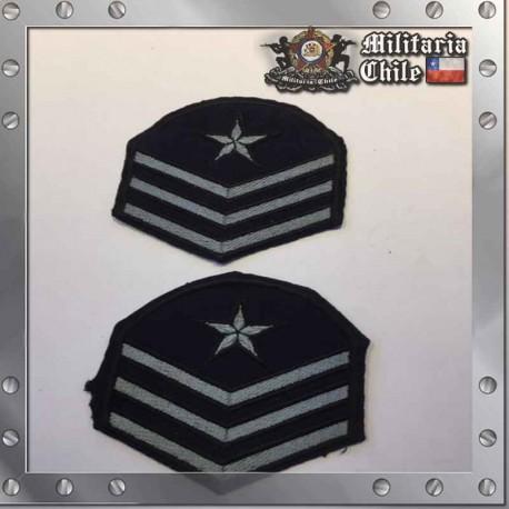 Parches Grado Sargento Segundo Tenida de Salida Air Force Sargent Grades