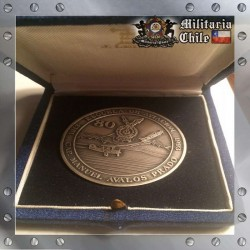 Medalla en Caja Otorgado a General de Aviacion 1993 Chile