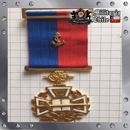 Condecoracion Cruz de Malta Academia de Guerra Rama Armada Chileam Army Medal