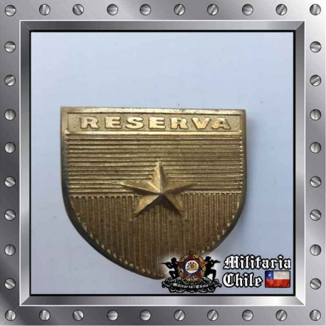 Piocha para Reservistas Ejercito Chilean Army Medal Reservation