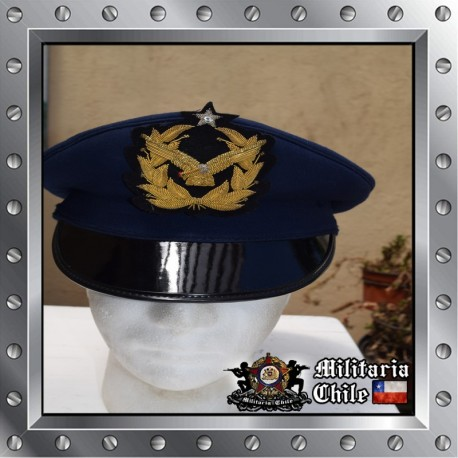 Gorra oficial gala Fuerza Aerea de Chile airforce hat officer