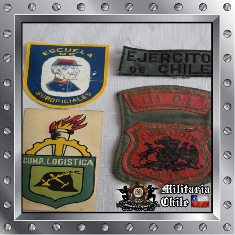 Lote parches de ejercito , lot army patches.
