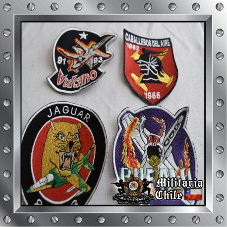Lote parches Fach , lot airforce patches.